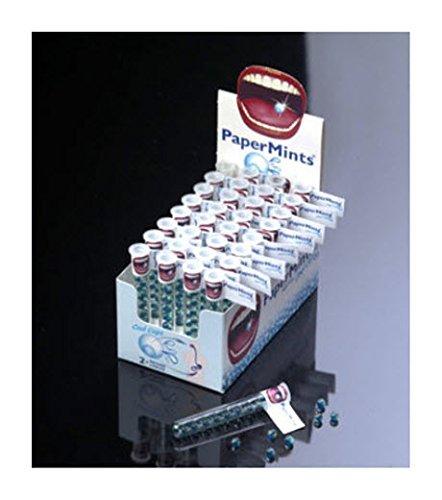 PaperMints Cool Caps Atemerfrischer, eine Box mit 32 Tuben, 18 Kapseln pro Tube