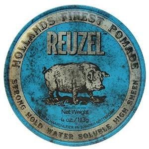 Reuzel Strong Hold High Sheen - Pomada para el pelo (2 x 113 g), color azul