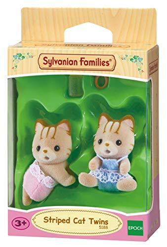 Sylvanian Families - 5188 - Gemelos Gato de Rayas