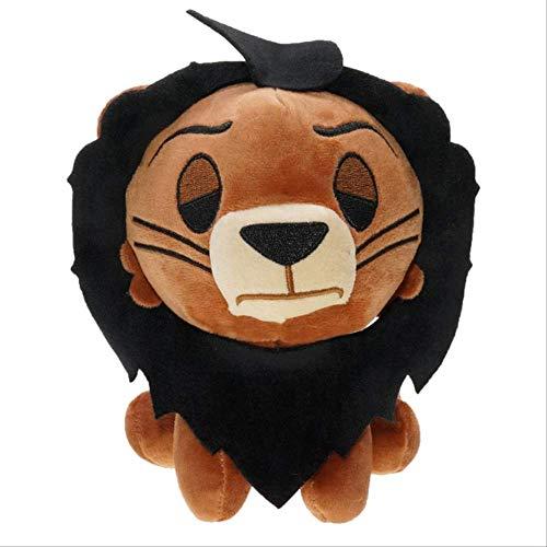 qwermz Peluches, 20 Cm Cartoon Simba Jouets en Peluche en Peluche Anime Le Roi Lion Poupées pour Enfants Enfants Cadeaux d'anniversaire 2