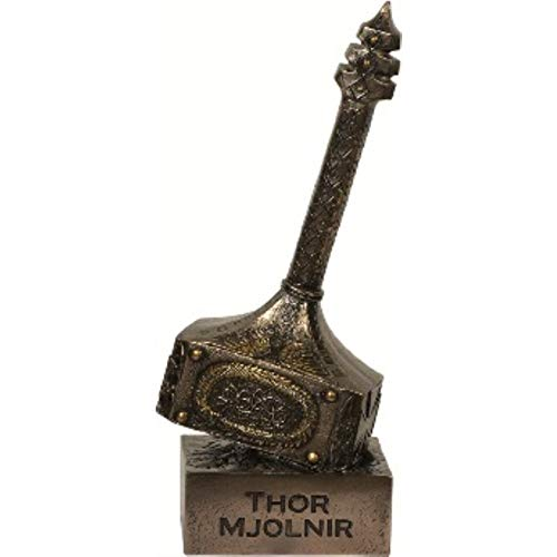 Thors martillo Mjolnir Bronce Figura Thor Odin
