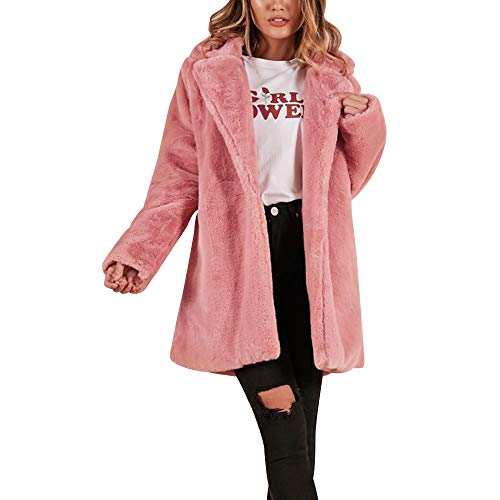 Winter Jacken Damen,Elecenty Frauen Parka Steppmantel Umlegekragen Wintermantel Outerwear Warm Trenchcoat Winterjacken Mantel übergangsjacke