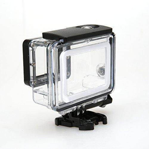 Aursen® Custodia impermeabile protettiva per GoPro Hero 5 camera per uso subacqueo di sport esterni