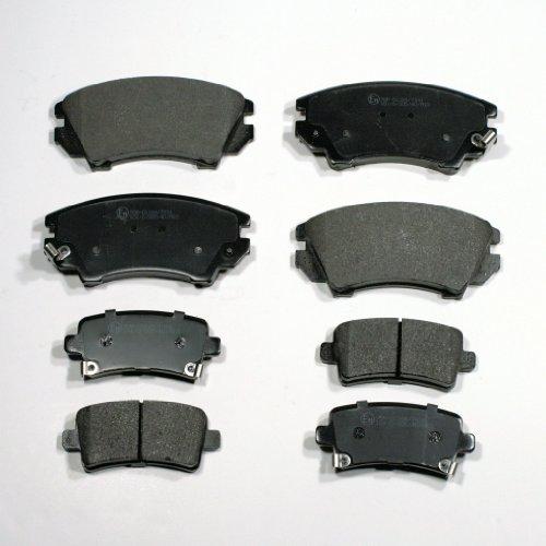 Bremsbeläge/Bremsklötze vorne + hinten