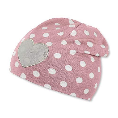 Sterntaler Mädchen Slouch Beanie Hat Mütze, Rot (Hellrot 814), Medium (Herstellergröße: 53)