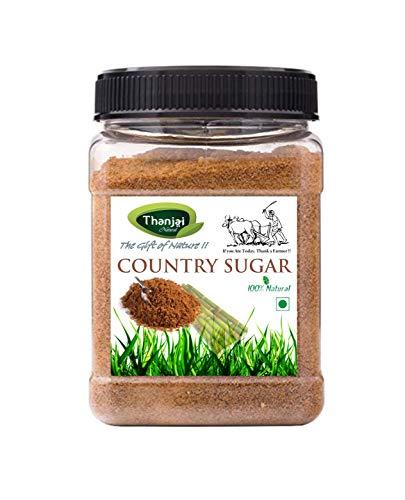 Naatu Sakkarai 500g Organically Processed Pure Country Sugar/Naatu Sakkarai 500g Jar 100% Natural