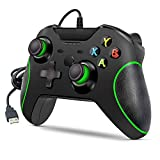Wired Controller for Xbox one, Wired Xbox one Game Controller USB Gamepad for Xbox One PC Windows 7/8/10 with 3.5mm Headset Audio Jack (Black)