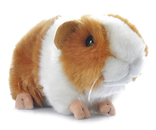 Cute Guinea Pig Plush Soft Stuffed Animals Toys 7 Inch (Yellow+White)