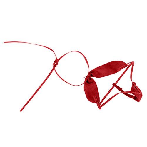 D DOLITY 1/6 Weibliche Sexy Frauen Badeanzug Bikini für 12 '' Action-Figur - Rot