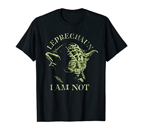 Star Wars Yoda Leprechaun I Am Not St. Patrick's Day T-Shirt