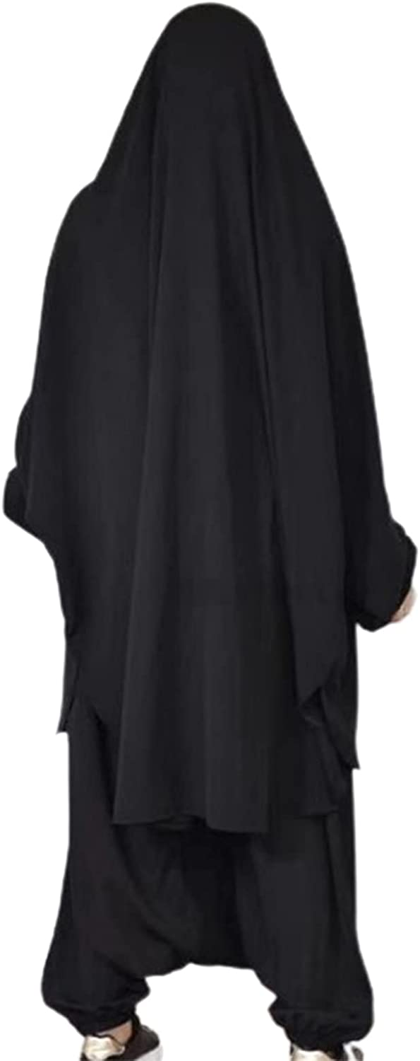 GHES Midi Dress Pants Atlanta Mall Hooded B Fit Loose Purchase for Pockets
