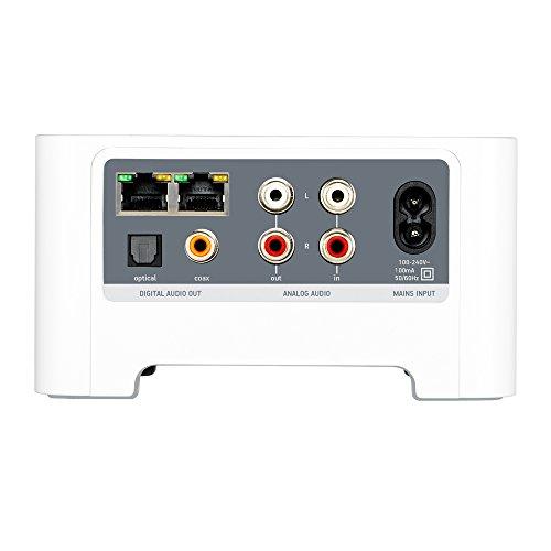 Sonos CONNECT I Verwandelt vorhandene Musikanlage oder Heimkino in ein Sonos Streaming System (weiß) - 3