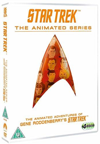 star trek - the animated series (4 dvd) box set