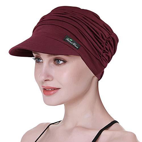 Novedad para la Cabeza para Las Mujeres de Chemo Turbantes de Vacaciones para IR de Compras Gorra para la pérdida del Cabello