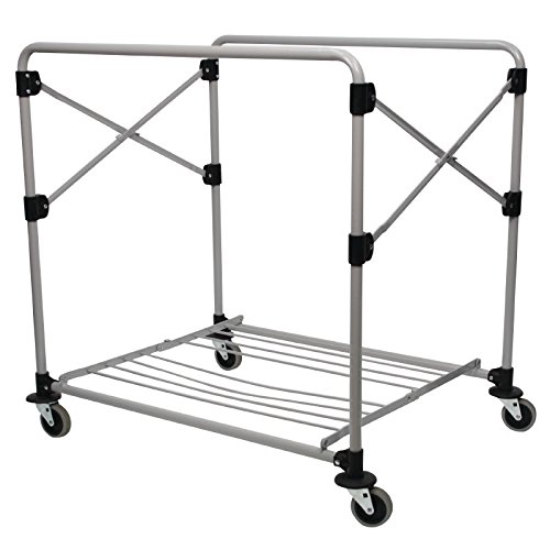 Rubbermaid Commercial Products 1871644 X Cart vouwframe, 300 L, grijs