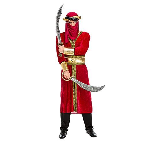 Desconocido My Other Me-202964 Disfraz de guerrero árabe para hombre, M-L (Viving Costumes 202964)