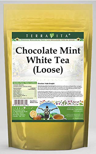 Chocolate Mint White Long-awaited Tea Max 66% OFF Loose oz 530104 ZIN: 4