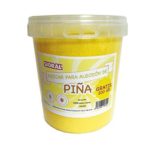 PIÑA | Algodón de Azúcar 1200gr. (200gr. GRATIS)