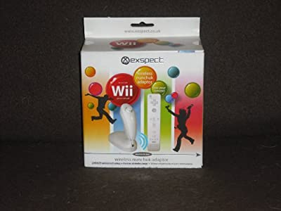 Wireless Wii Nunchuck Adaptor (Holder) from Exspect