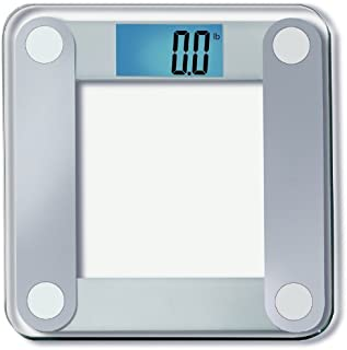 EatSmart Precision Digital Bathroom Scale with Extra Large Lighted Display, Free Body..