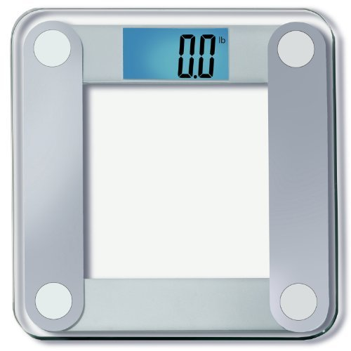 EatSmart Precision Digital Bathroom Scale w/Extra Large Lighted Display, 400 lb. Capacity