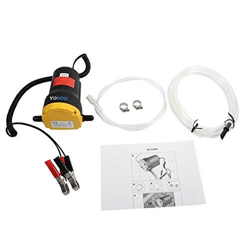 12V elektrische Luftpumpe für Kasetten Flüssige Übertragung von diesel Öl Saugkraft für Auto Motorrad Boot