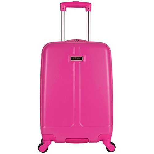 Kenneth Cole Reaction High-Lite 20' Hardside 4-Wheel Carry-on Luggage, Pink