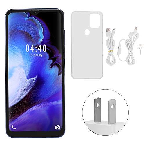 Teléfono Móvil S20Plus, Pantalla De 6.52 Pulgadas, Huella Digital, Desbloqueado, Doble Tarjeta, Doble Modo De Espera, Quad Core 2 + 16G, Teléfono Inteligente Con Auricular Para Android 5.1(azul)