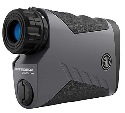 Sig Sauer Laser Range Finder Sig Kilo2200BDX 7x25mm Bluetooth from SIGO