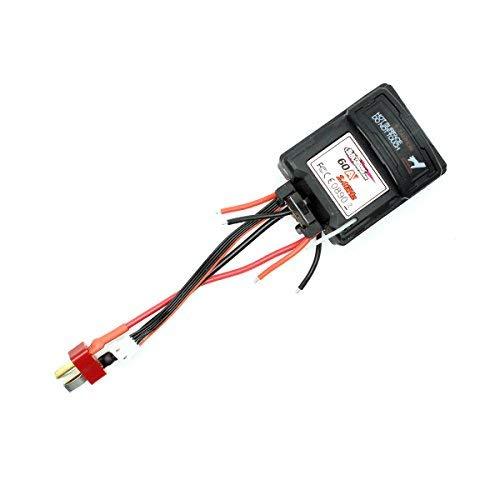 Hosim RC Car Electronic Speed Controller Assembly Accessori Ricambi 25-ZJ07 9125 RC Car