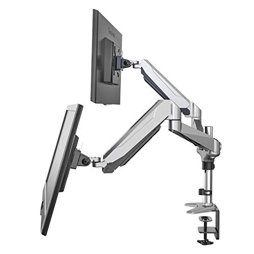 Eono by Amazon - Dual Monitor Desk Mount for 15'-32' Screens