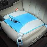 Yontree Cinturón para Embarazada de Seguridad en el Coche que Protege al Bebé y la Mamá Protector Ajustable Azul