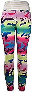 Womens 3D Print Yoga,Skinny Workout Gym Leggings Sports Training Cropped Pants Sport Trousers for Ladies Yamally