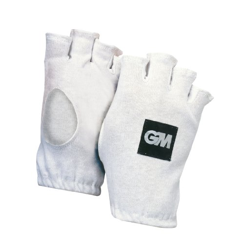 GM Gunn & Moore Fingerlose Cricket-Innenhandschuhe aus Baumwolle, Herren