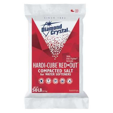 Water Softener Salt, Hardi-Cube, 50 lb, Min. Qty 49 (49 Pieces)