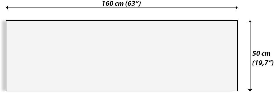 Impression sur Verre Decoration Chambre Toutes Tailles et Diff/érents Th/èmes Graphiques Triptyque Mural avec Un Nombre Diff/érent D/él/ément GAB160x50-2171