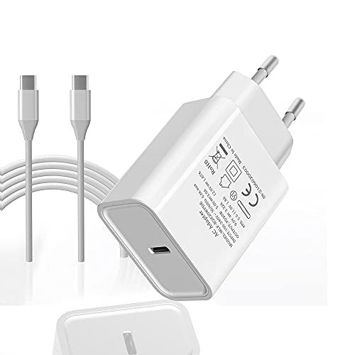 Bawanfa 20W USB C Ladegerät Typ C Netzteil PD 3.0 USB C Power Adapter Ladestecker, kompatibel mit iPhone 12, 12 Pro,12 Pro Max, 12 Mini, 11Pro, X, Pad Pro, Galaxy S21, S20, A51 usw.