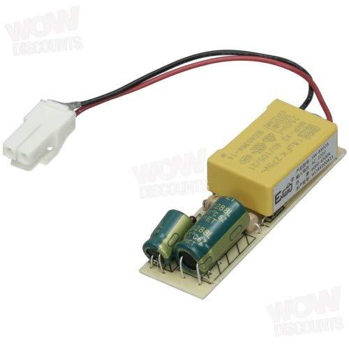 Hoover 41041487 LED-Platine für Kühlschrank und Gefrierschrank, Originalteil