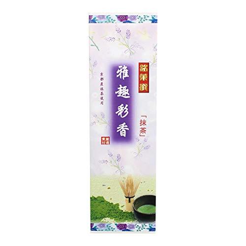 抹茶大箱 雅趣彩香×36本 イソップ製菓 熊本産小麦粉使用カステラ生地で特製あんを手巻きにした郷土菓子 仏事用