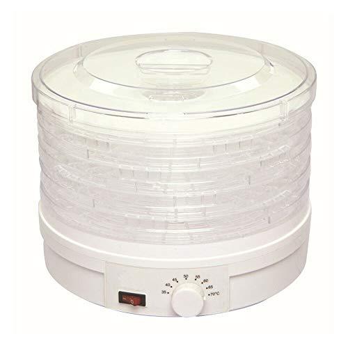 Daltatore automatico a 5 ripiani, 350 W, in acciaio inox, disidratatore, per frutta, carne, frutta, asciugatrici, erbe aromatiche