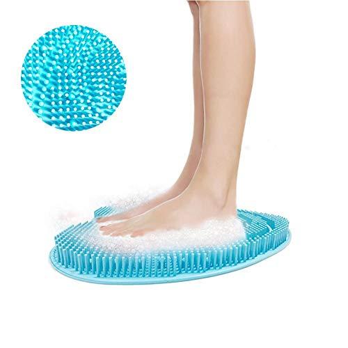 Urben Life Fußbürste, Reinigung & Massage für Füße, Fußschrubber Bürste, rutschfeste Duschmatte, entfernt abgestorbene Haut, verbessert die Durchblutung der Füße, reduziert Fußschmerzen