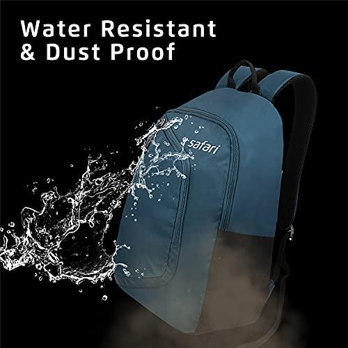 Safari Hexa 21 Ltrs Water Resistant Backpack - Blue, S (HEXA19CBBLU)