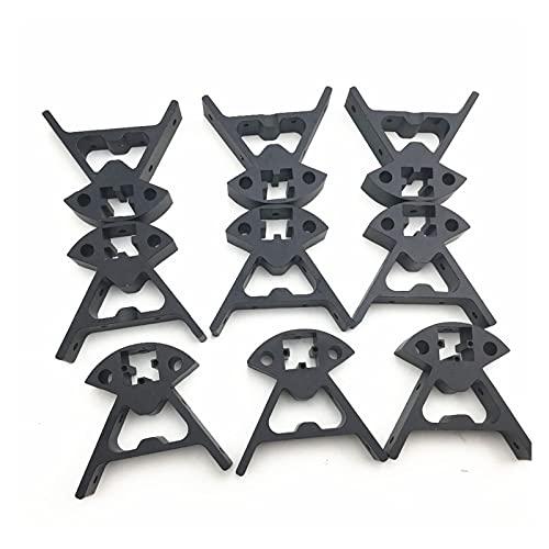 SHANGSHANG Zfuxiang Stor 1 Set Parti della Stampante del Delta 3D Kossel Mini K800 in Lega di Alluminio Top/Bottom Vertex Fit for Il Telaio della Stampante 3D del Profilo 2020