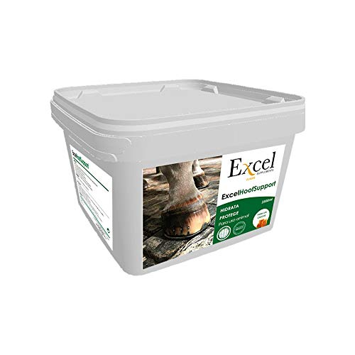 Excel Hoof Support 2,5 litros| Grasa Cascos Caballos| hidratante|