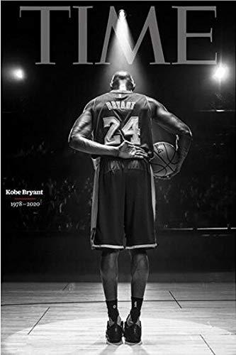 GAONAN Los Aficionados de la NBA Colección Rompecabezas - No.24 's Back - Cada Pieza es única, Piezas encajan Perfectamente (300/520/1000 Piezas) Rompecabezas (Size : 300pcs)