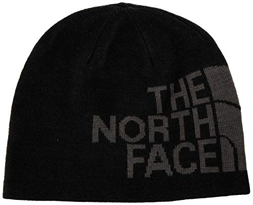 The North Face Rvsbl TNF Banner Bne, Berretto Unisex Adulto, Nero (TN Blk/Greylogo), Taglia unica