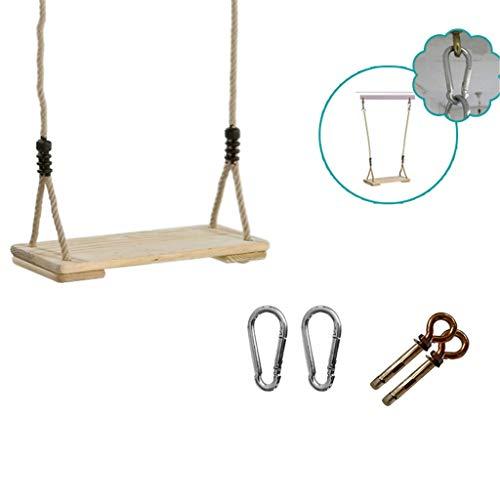 Board Verandaschaukel, Außen Rechteck Swinging Adult Home Use Garten Hänge Swing Swing Hof Dekoration (Color : H)