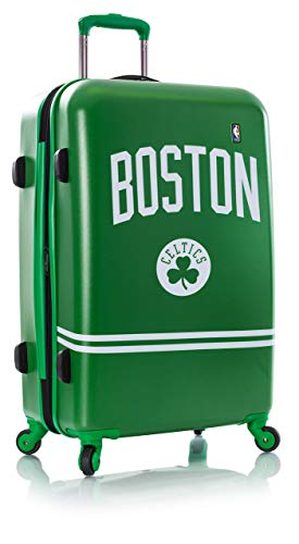 Heys America National Basketball Association Officially Licensed Wheeled Luggage (Boston Celtics, 26-Inch)