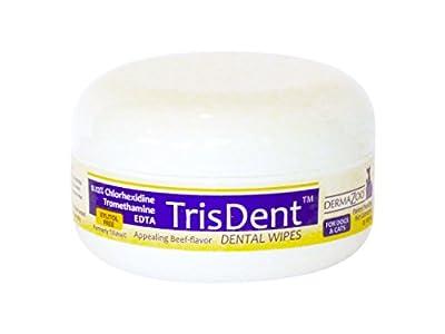 DermaZoo TrisDent Dental Wipes25