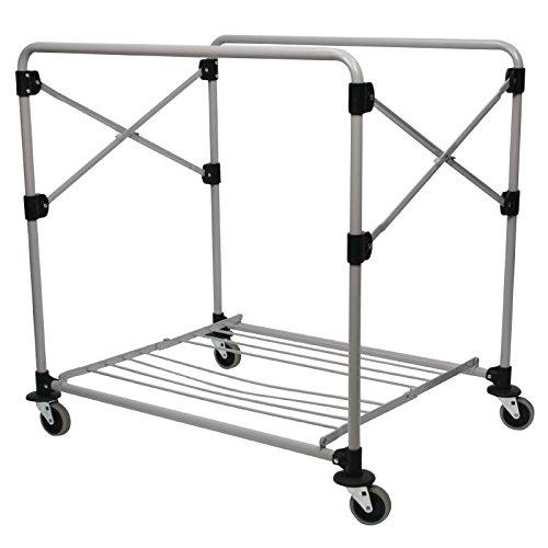 Rubbermaid Commercial Products 1871644 X Cart Faltwagenrahmen, 300 L, Grau